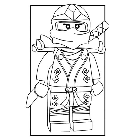 Kleurplaat Ninjago A4 by Lego Ninjago Kleurplaten Kleurplatenpagina Nl
