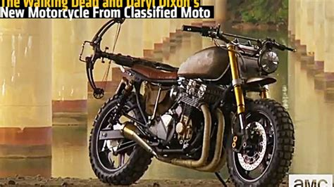 The Walking Dead And Daryl Dixon's New Motorcycle From