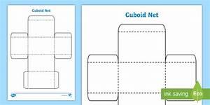 Free  - 3d Net Of A Cuboid