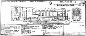 Erie Railroad Diesel Locomotive Diagrams  U2013 Railfandepot