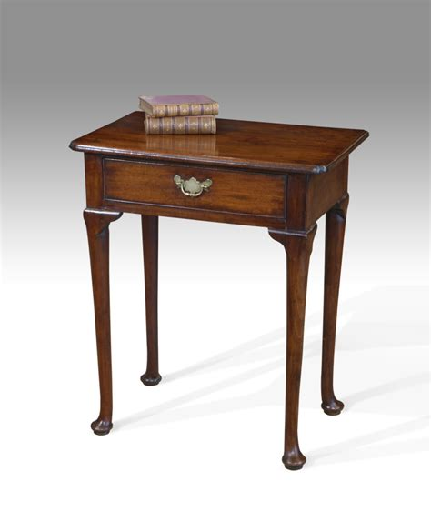 small l table small antique side table small lowboy tripod tables