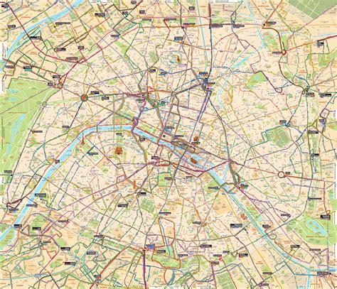 Carte Des Banlieue by Plan Des Ratp Banlieue