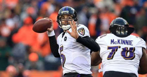 ravens news  flacco fallout rookie grades