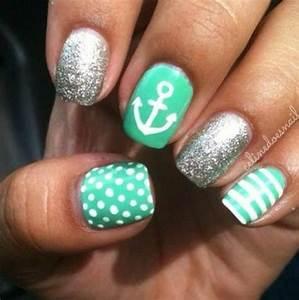 Sailor nails | Nails | Pinterest | Creative, Nail nail and ...