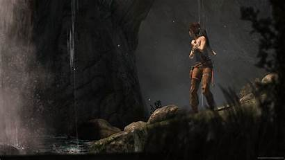 Chill Backgrounds Wallpapers 100k Ark Lara Croft
