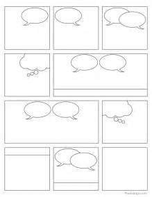 Free Printable Comic Book Panels