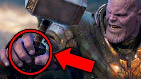Avengers Endgame Thanos Battle NEW EASTER EGGS Revealed ...