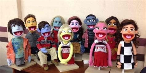 glee puppets are the cutest huffpost