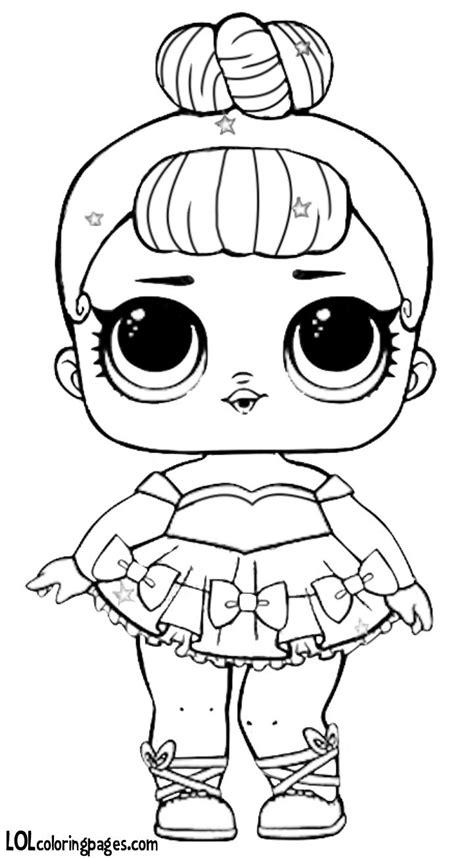 pin  anya amir  lol suprise coloring lol dolls baby coloring pages coloring pages