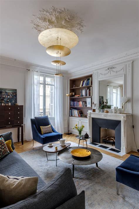 le style rice dans maison appartement du vième arrondissement par véronique cotrel