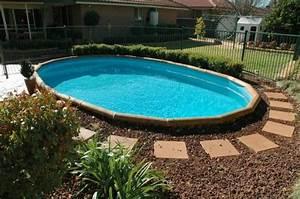 Piscine A Enterrer : piscine hors sol les top 5 avantages et id es en photos super ~ Zukunftsfamilie.com Idées de Décoration