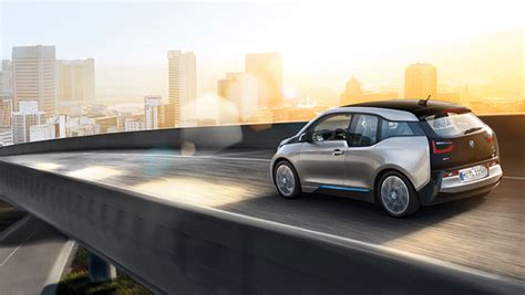 bmw officially unveils  electric car zdnet