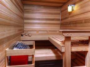 How to Build a Custom Home Sauna