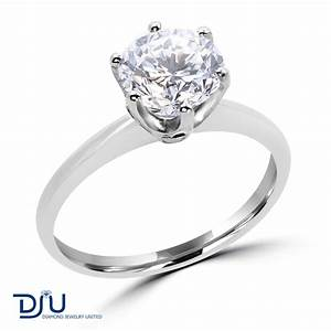 200 ct e si2 round diamond solitaire engagement ring 14k With 2 ct wedding rings