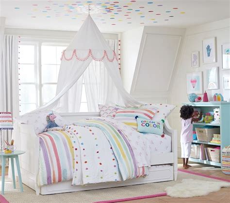 unicorn rainbow sheet set pottery barn kids