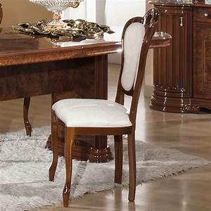 Chaise Table A Manger : chaises salle a manger noyer ~ Teatrodelosmanantiales.com Idées de Décoration