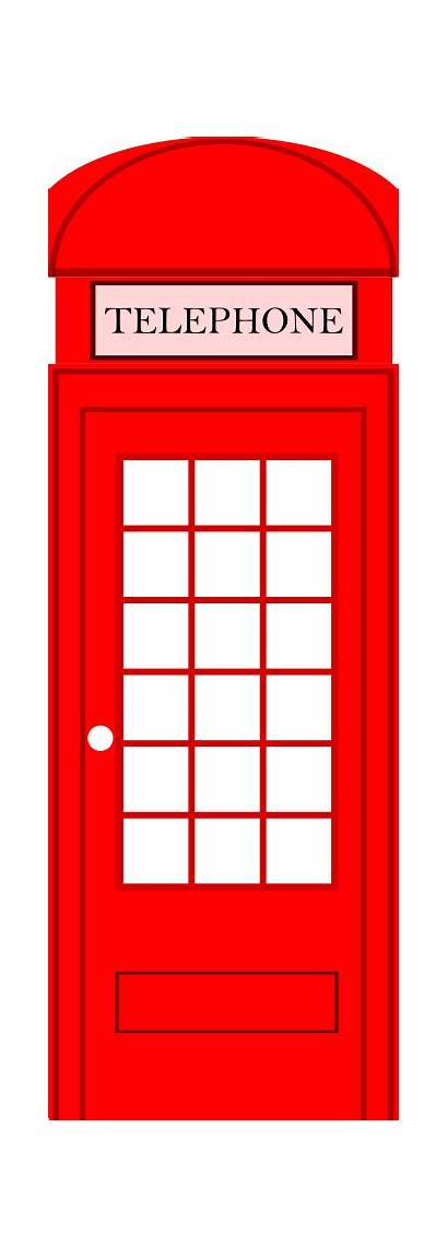 Booth London Phone Clipart Phonebooth Clip Telephone