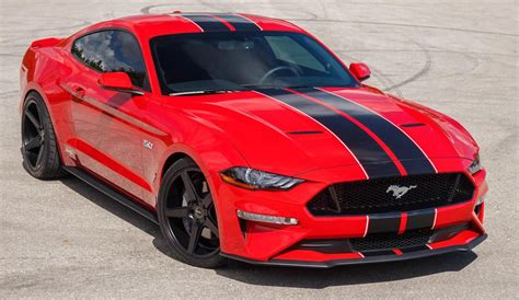 race red  ford mustang gt fastback mustangattitude