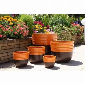 Couleur Soleil Albi : massaya terre de feu vase orange les poteries d 39 albi ~ Melissatoandfro.com Idées de Décoration