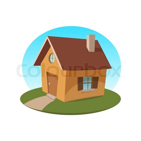 Small Cartoon House Icon Vector Illustration Stock Interiors Inside Ideas Interiors design about Everything [magnanprojects.com]