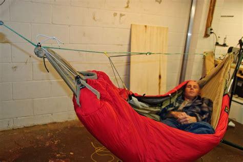 Diy Hammock Underquilt Sleeping Bag by Another Sleeping Bag To Underquilt Mod Hiking