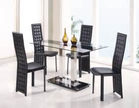 glass dining room sets fascinating dining room sets for sale modern glass top square table