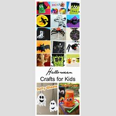Halloween Crafts For Kids  The Idea Room