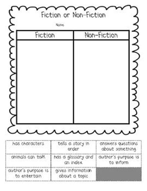 2nd grade 187 fiction and nonfiction worksheets 2nd grade