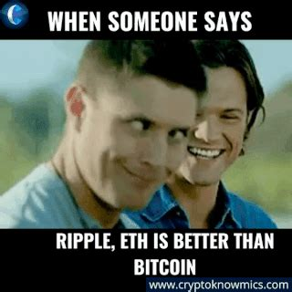A distributed, worldwide, decentralized digital money. Ripple, ETH is better than Bitcoin Meme in 2020   Memes ...