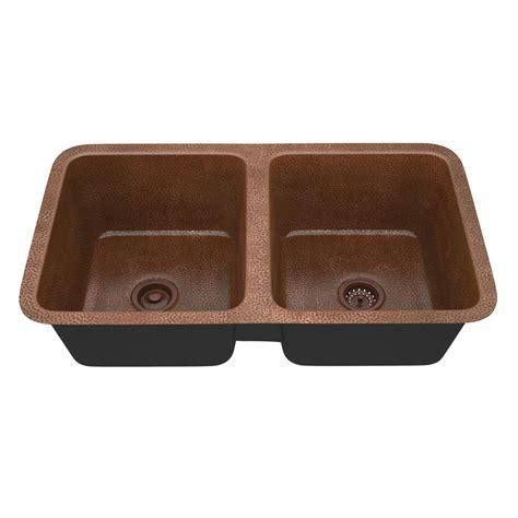 copper undermount kitchen sink sinkology renoir undermount handmade solid copper 23 in
