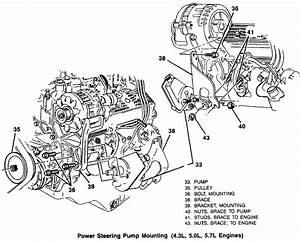 I Am Having Problems Removing Power Steering Pump On 1992 Gmc K1500 350  Is There A Diagram