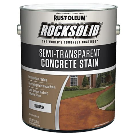 Semi Transparent Concrete Stain Tint Base Product Page