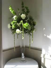 Wedding Flowers Tall Vase Arrangement