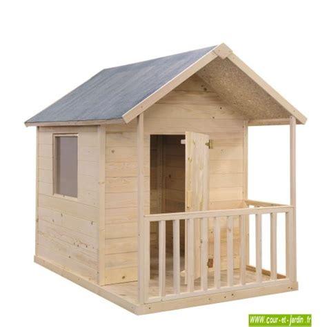 cabane en bois pour enfant cabane de jardin pour enfants