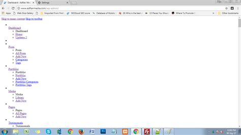 The Wordpress Site Is Working Well But Whenever I