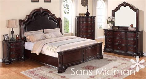 pc sheridan queen bedroom collection traditional