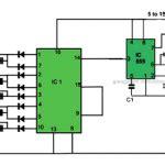 Led Reverse Forward Light Chaser Circuit For Diwali