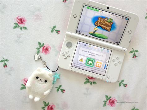 Animal Crossing New Leaf 3ds Console by Cantliveitdown 3ds Xl Animal Crossing New Leaf Review