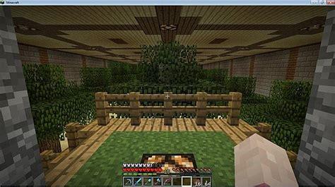 underground tree farm minecraft project