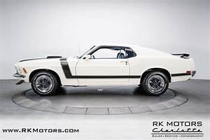 1970 Ford Mustang Boss 302 White Fastback Boss 302 V8 4