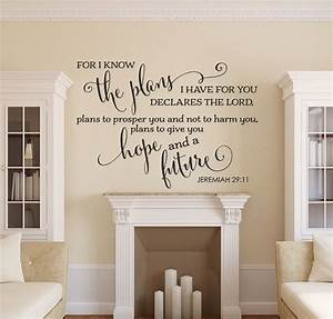 bible verse wall decal christian wall decal family wall With biblical wall decals ideas