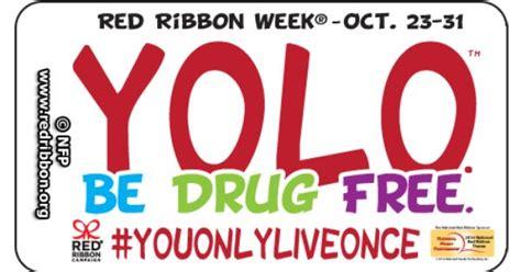 red ribbon week brubaker elementary school