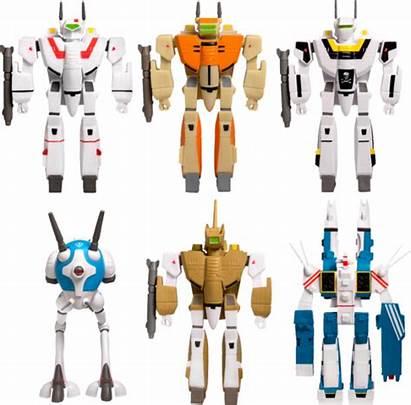 Robotech Figures Reaction Super Action