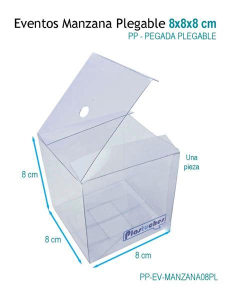 12 cajas para manzana caja de acetato 8x8x8 plegable pegada 84 00 en mercado libre