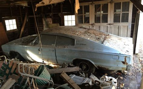 barn finds cars 1966 dodge charger barn find