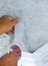 trockenbau risse in den ecken reparieren wand und decke reparieren mit den richtigen mitteln
