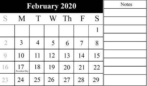 february  printable calendar  pdfexcel