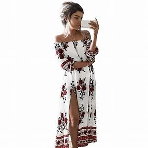 NºCasual Vintage 2017 Summer ⑦ Boho Boho Beach Dresses ...