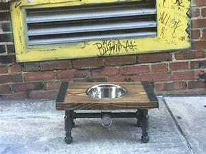 97 best dog furniture images on pinterest dog bowl stand With dog bowl furniture