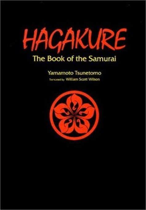 hagakure  book   samurai  yamamoto tsunetomo